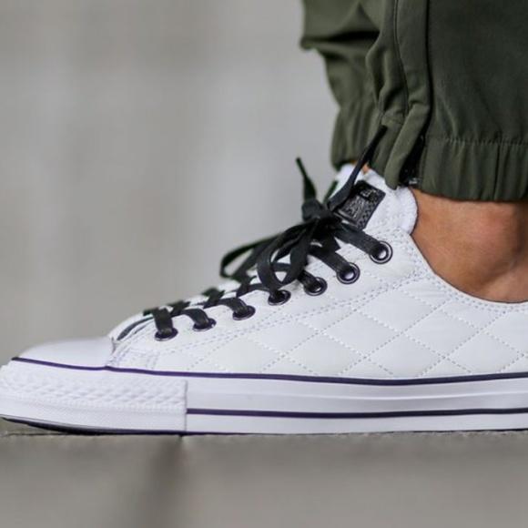 54d47009e737 Converse Shoes - Quilted White unisex Converse Wo 9 Men 7